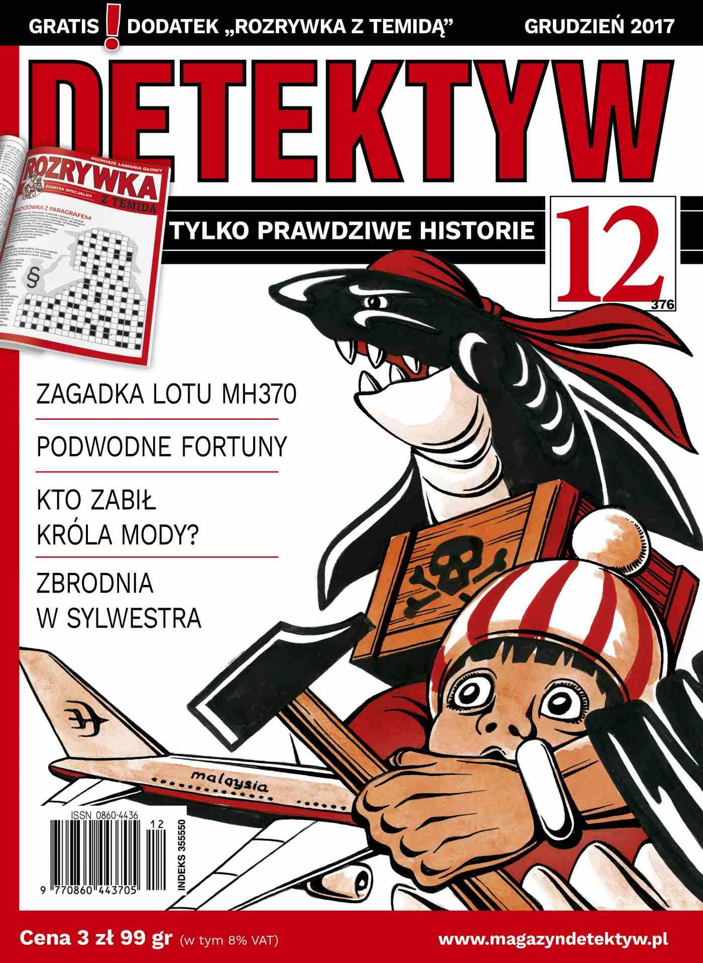 Detektyw 12/2017 - Ebook (Książka PDF) do pobrania w formacie PDF