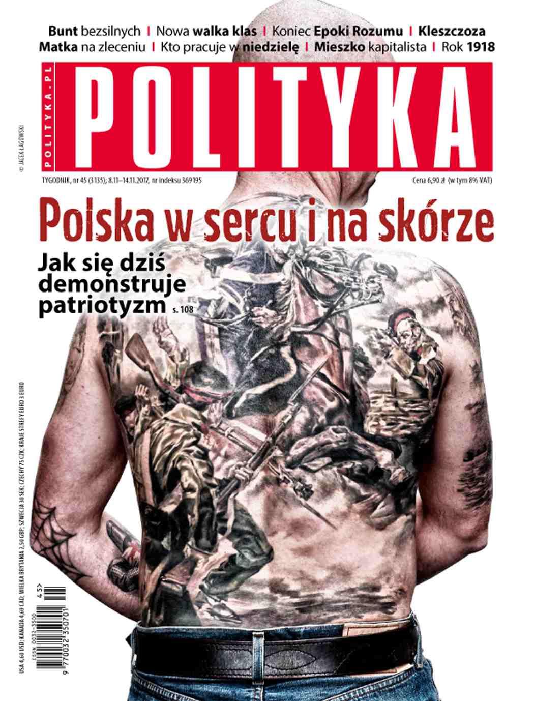 Polityka nr 45/2017 - Ebook (Książka PDF) do pobrania w formacie PDF