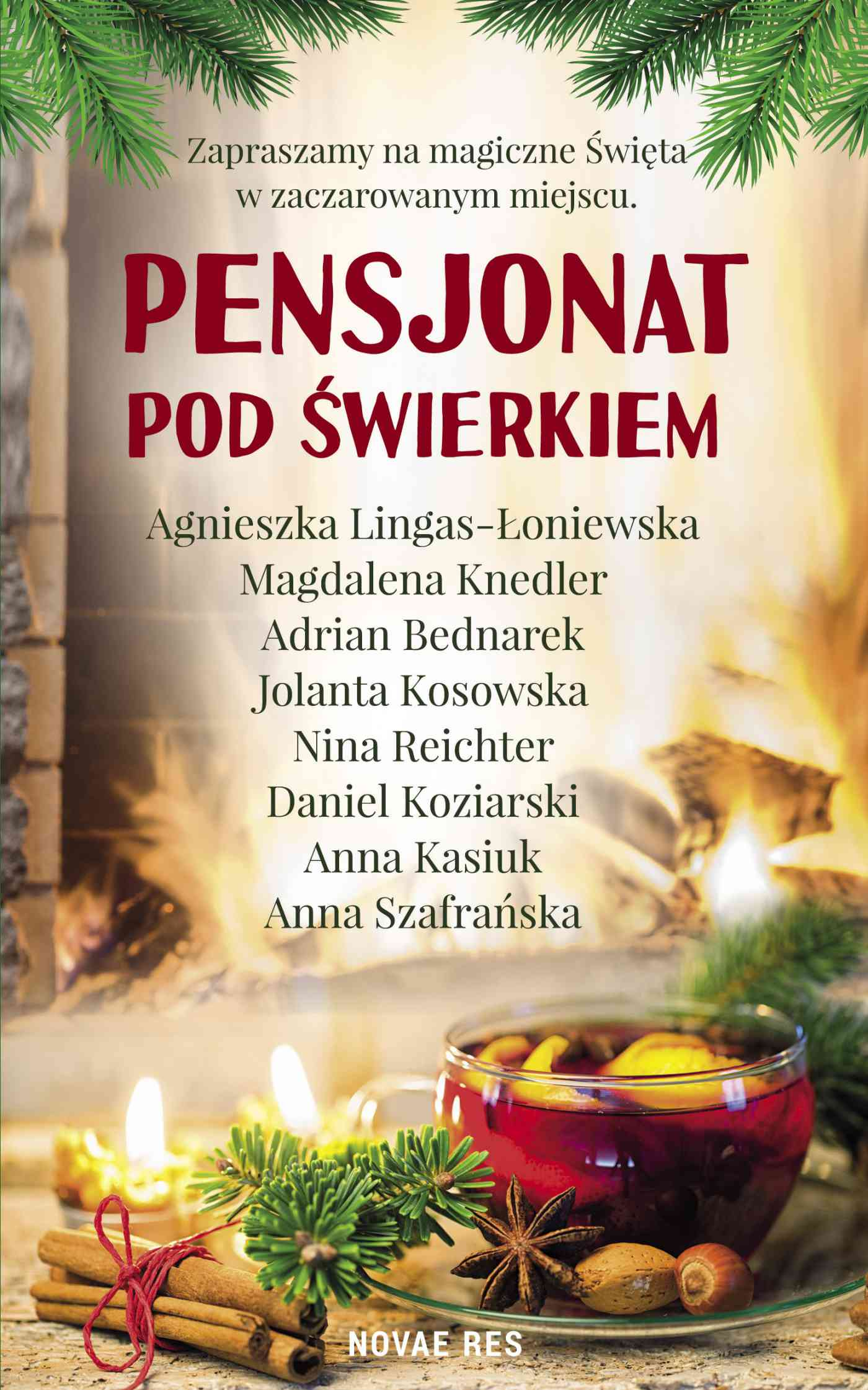 Pensjonat pod świerkiem - Ebook (Książka na Kindle) do pobrania w formacie MOBI