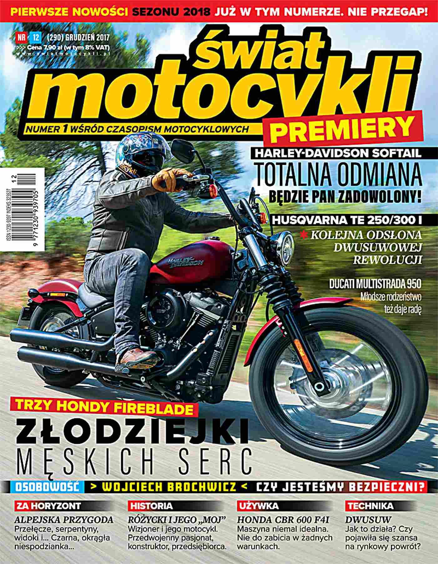 Świat Motocykli 12/2017 - Ebook (Książka PDF) do pobrania w formacie PDF