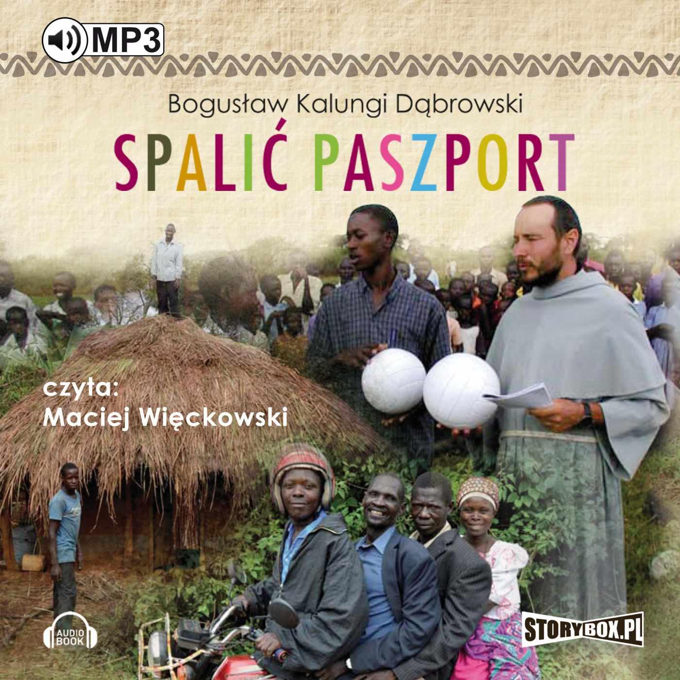 Spalić paszport - Audiobook (Książka audio MP3) do pobrania w całości w archiwum ZIP