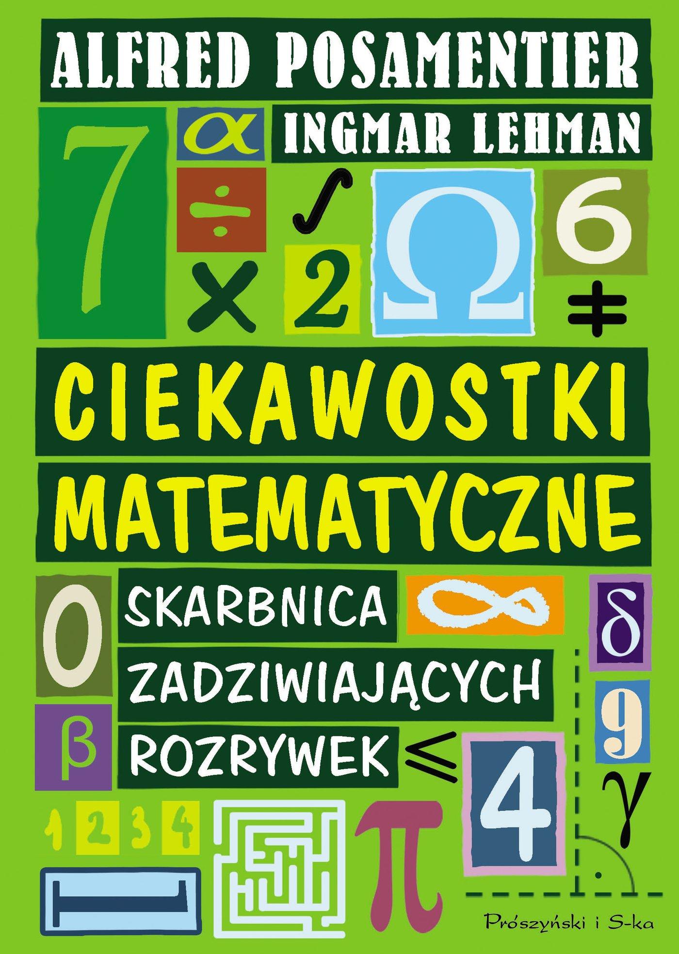 Ciekawostki matematyczne. Skarbnica Zadziwiających rozrywek - Ebook (Książka EPUB) do pobrania w formacie EPUB