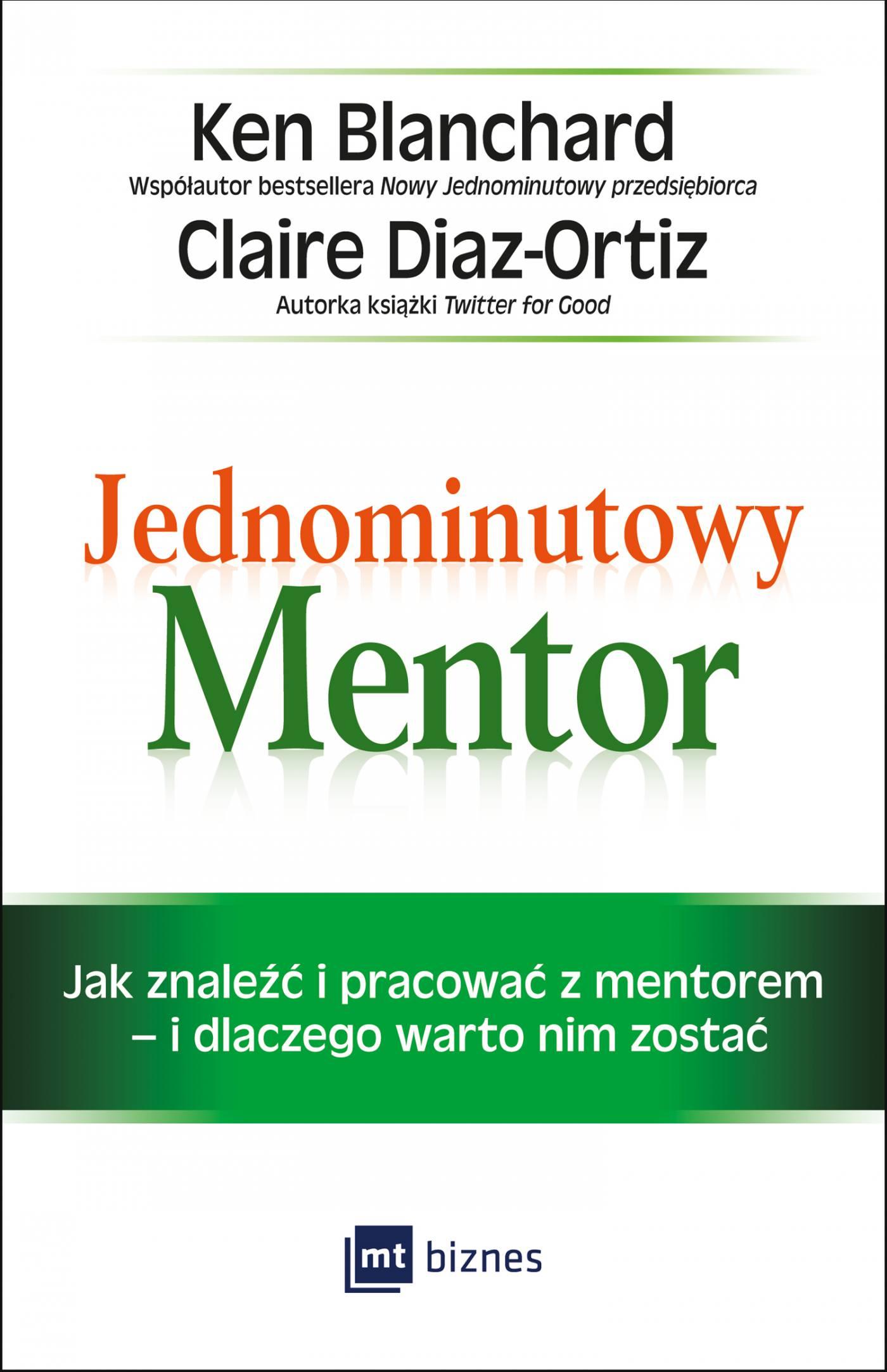 Jednominutowy Mentor - Ebook (Książka EPUB) do pobrania w formacie EPUB