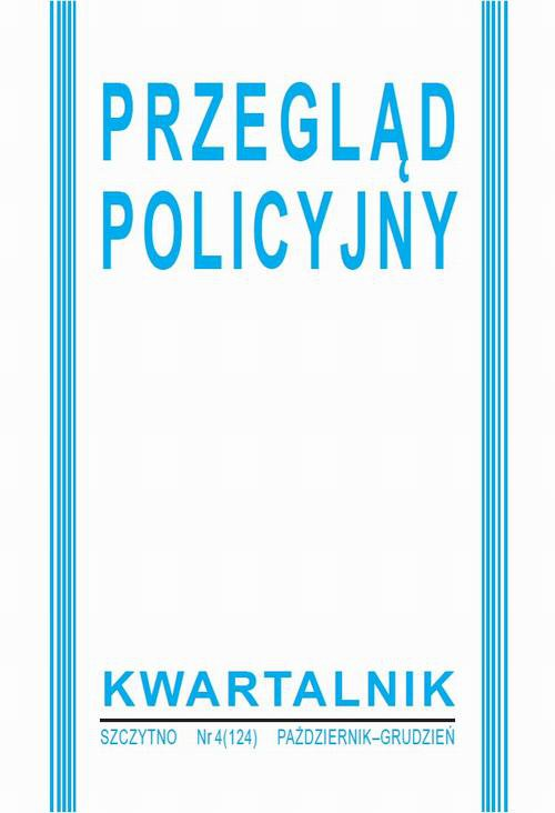 Przegląd Policyjny nr 4 (124) 2016 - Ebook (Książka PDF) do pobrania w formacie PDF