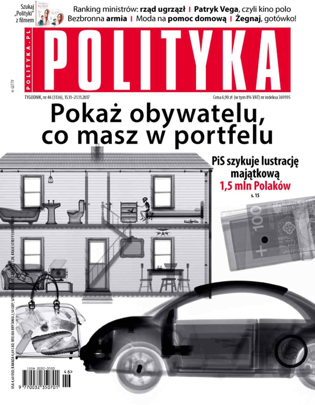 Polityka nr 46/2017 - Ebook (Książka PDF) do pobrania w formacie PDF