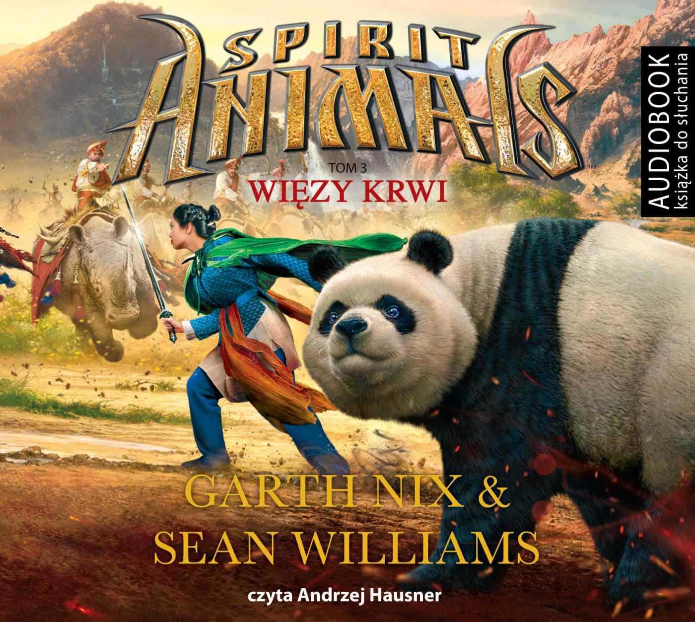 Spirit Animals. Tom 3. Więzy krwi - Audiobook (Książka audio MP3) do pobrania w całości w archiwum ZIP