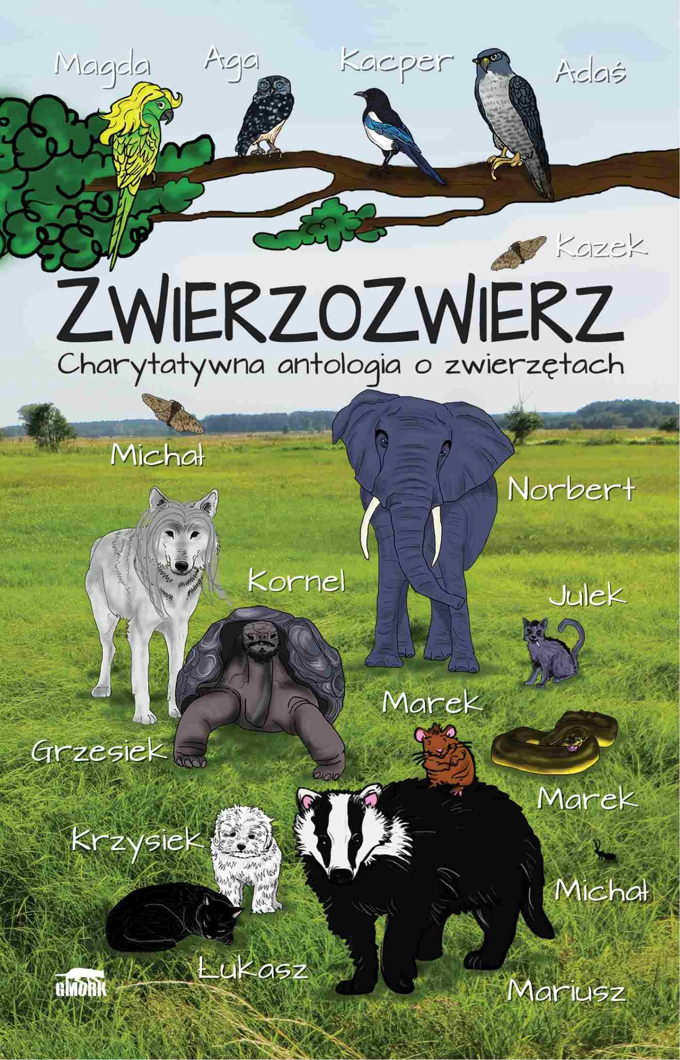 Zwierzozwierz. Charytatywna antologia o zwierzętach - Ebook (Książka PDF) do pobrania w formacie PDF