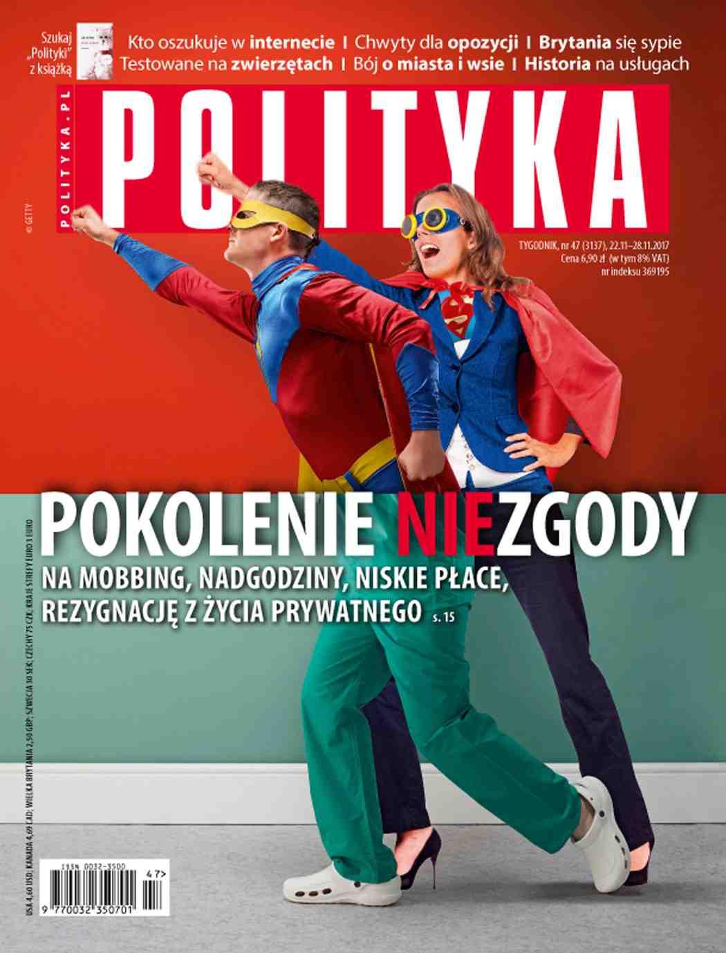 Polityka nr 47/2017 - Ebook (Książka PDF) do pobrania w formacie PDF