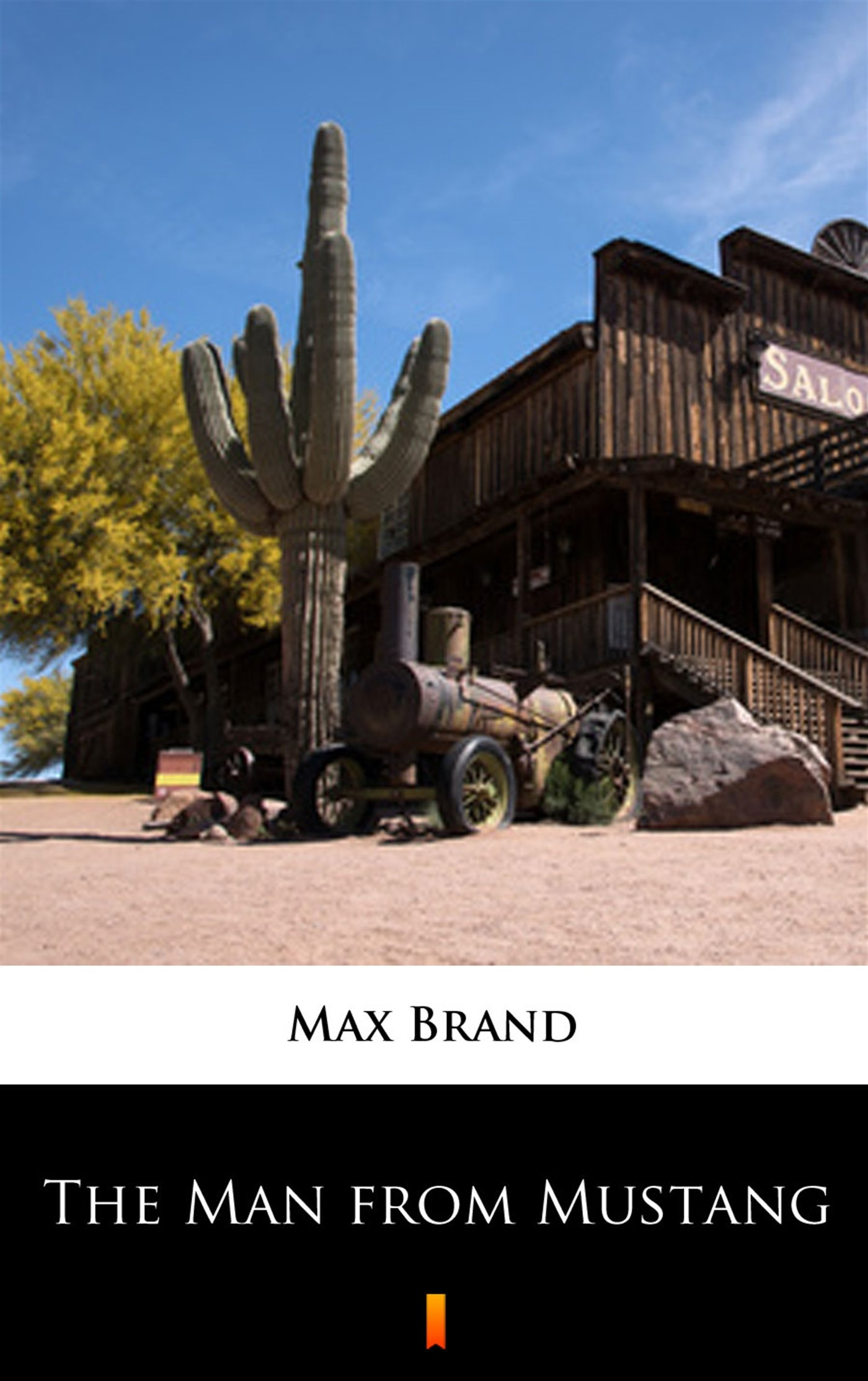 The Man from Mustang - Ebook (Książka na Kindle) do pobrania w formacie MOBI