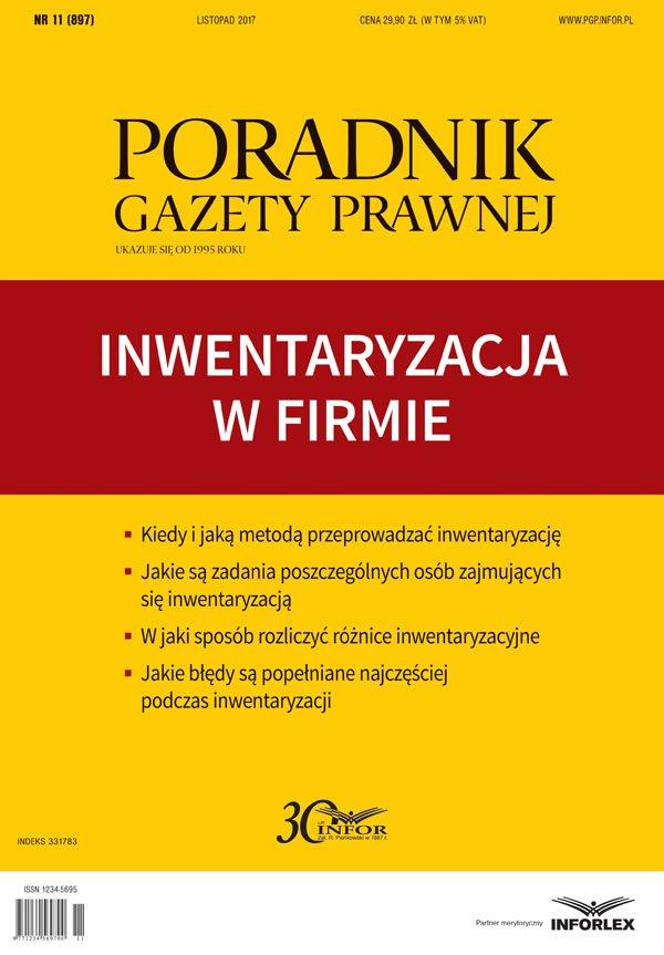 Inwentaryzacja w firmie - Ebook (Książka PDF) do pobrania w formacie PDF