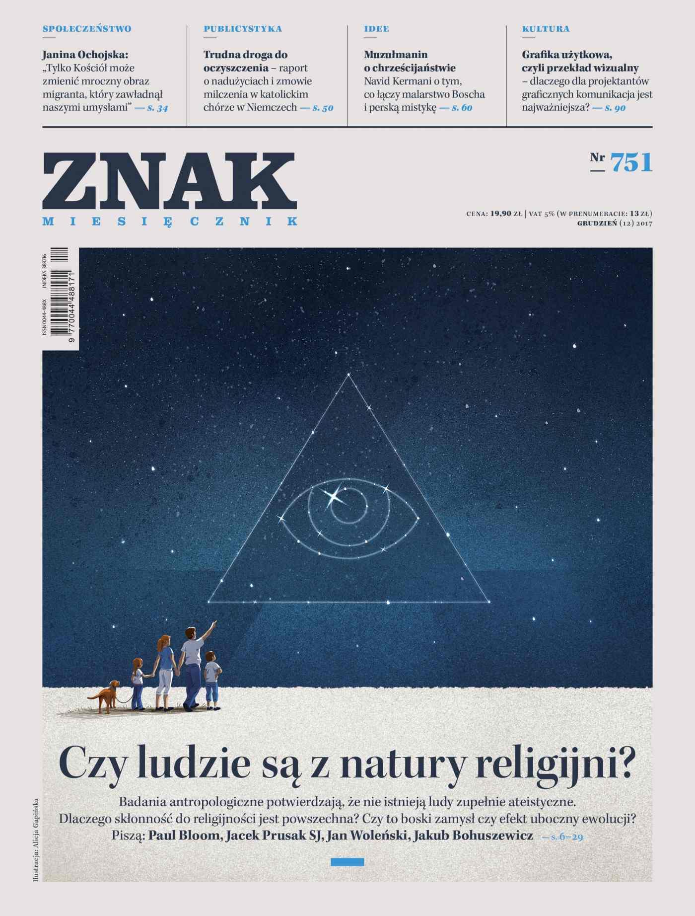 Miesięcznik ZNAK nr 751: Czy ludzie są z natury religijni? - Ebook (Książka PDF) do pobrania w formacie PDF