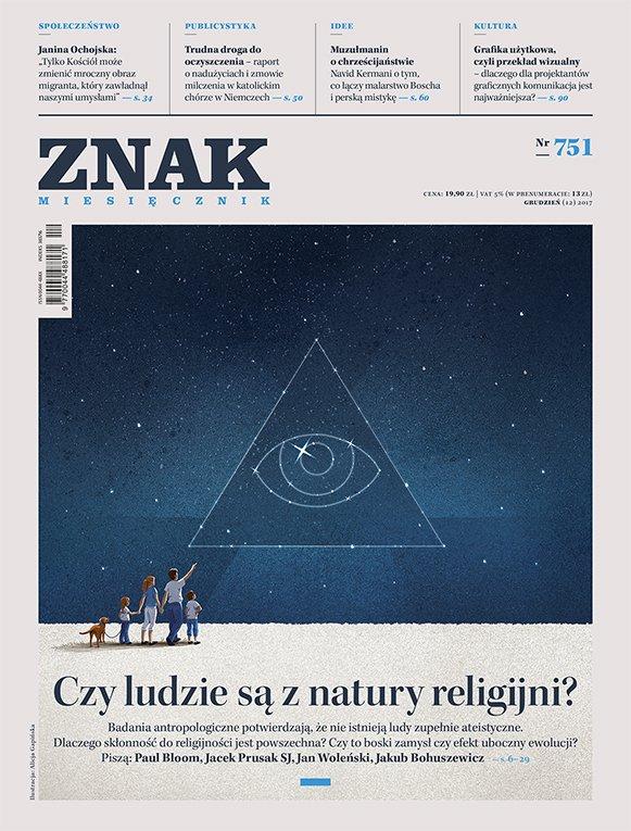 Miesięcznik ZNAK nr 751: Czy ludzie są z natury religijni? - Ebook (Książka na Kindle) do pobrania w formacie MOBI