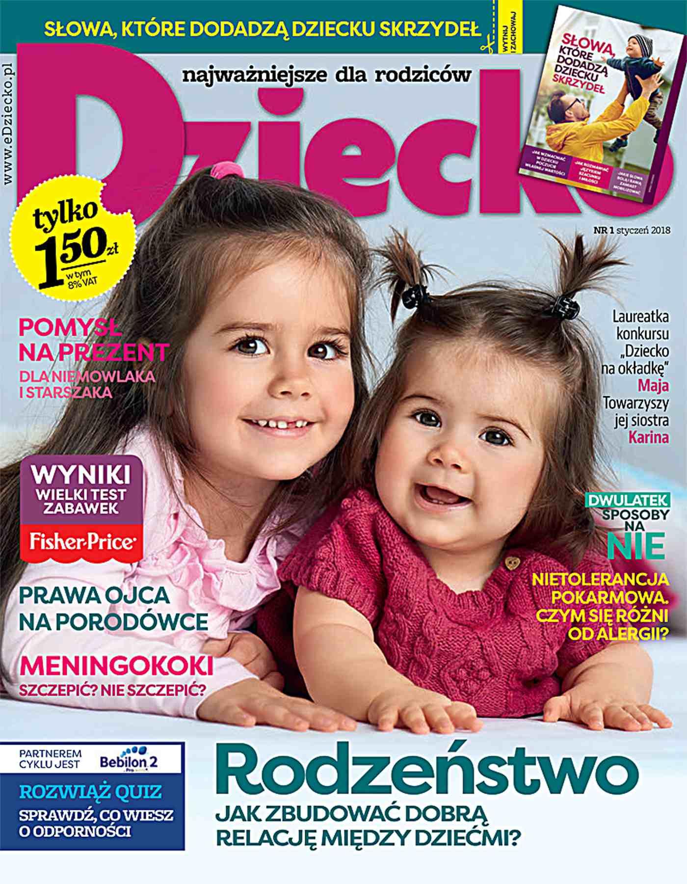 Dziecko 1/2018 - Ebook (Książka PDF) do pobrania w formacie PDF