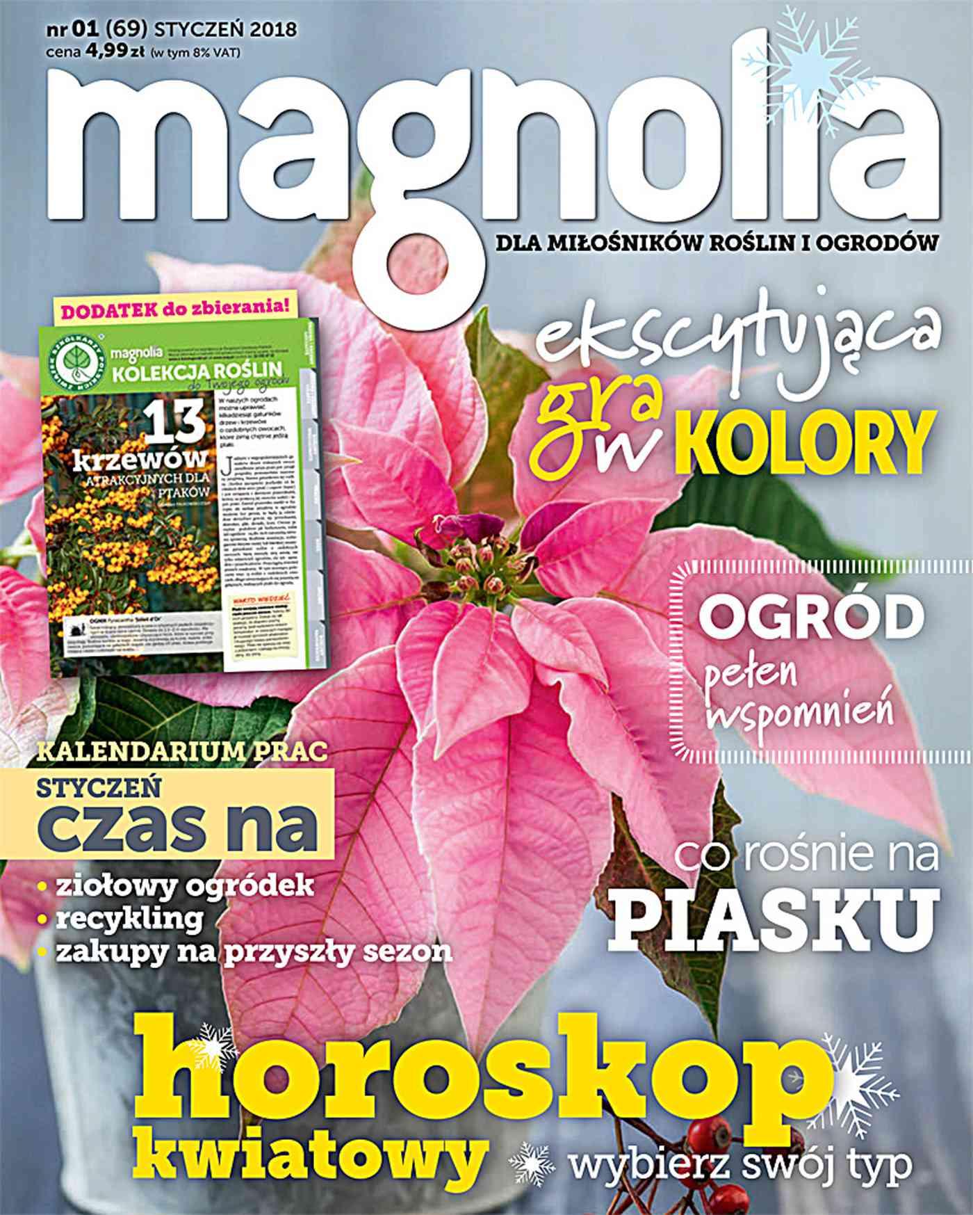 Magnolia 1/2018 - Ebook (Książka PDF) do pobrania w formacie PDF