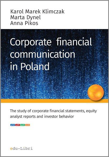 Corporate financial communication in Poland - Ebook (Książka PDF) do pobrania w formacie PDF