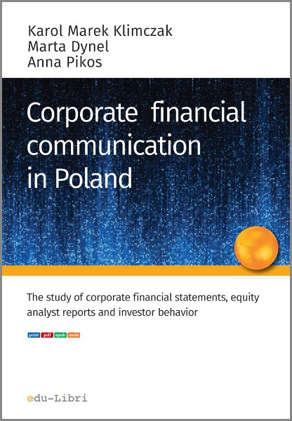 Corporate financial communication in Poland - Ebook (Książka EPUB) do pobrania w formacie EPUB