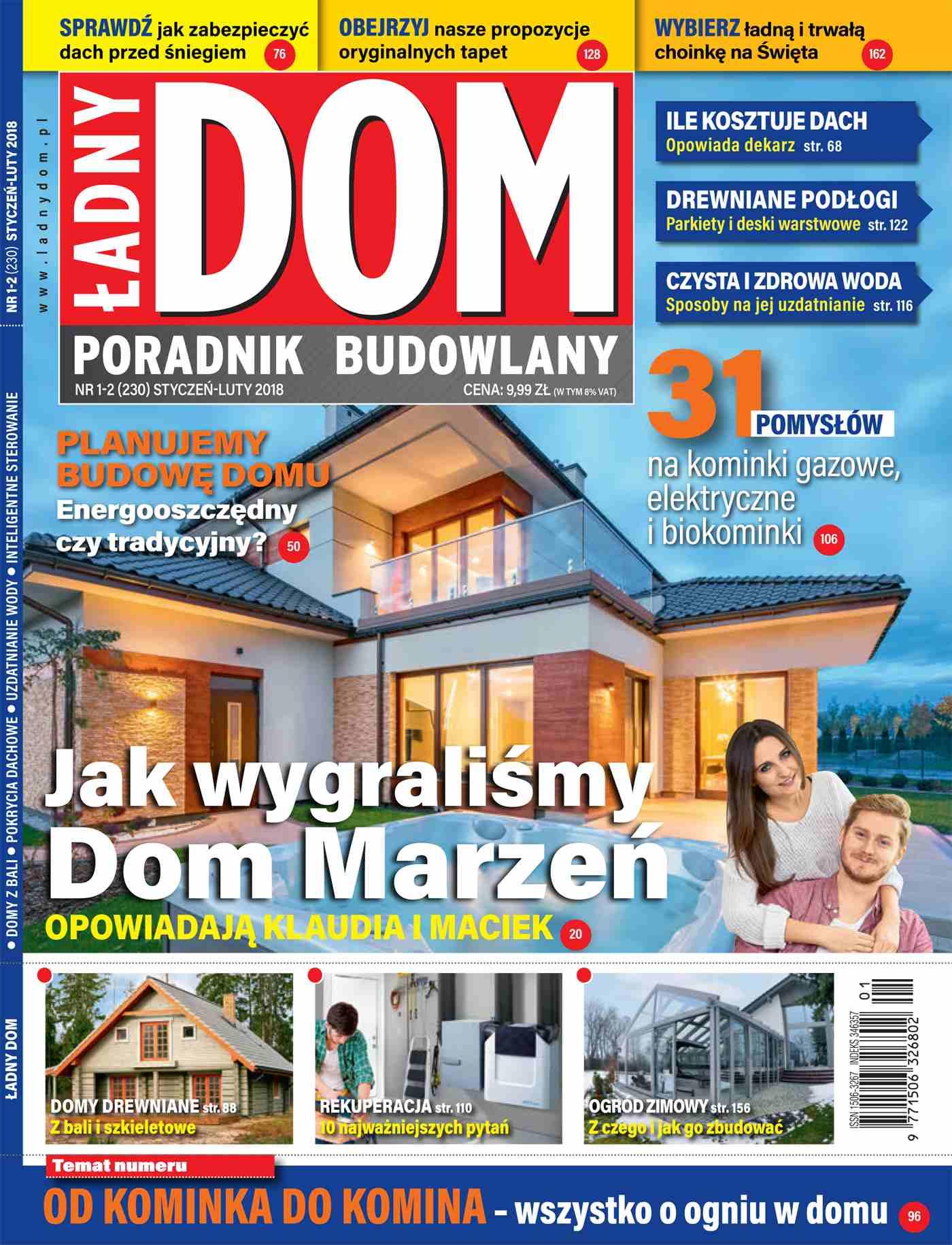 Ładny Dom 1-2/2018 - Ebook (Książka PDF) do pobrania w formacie PDF