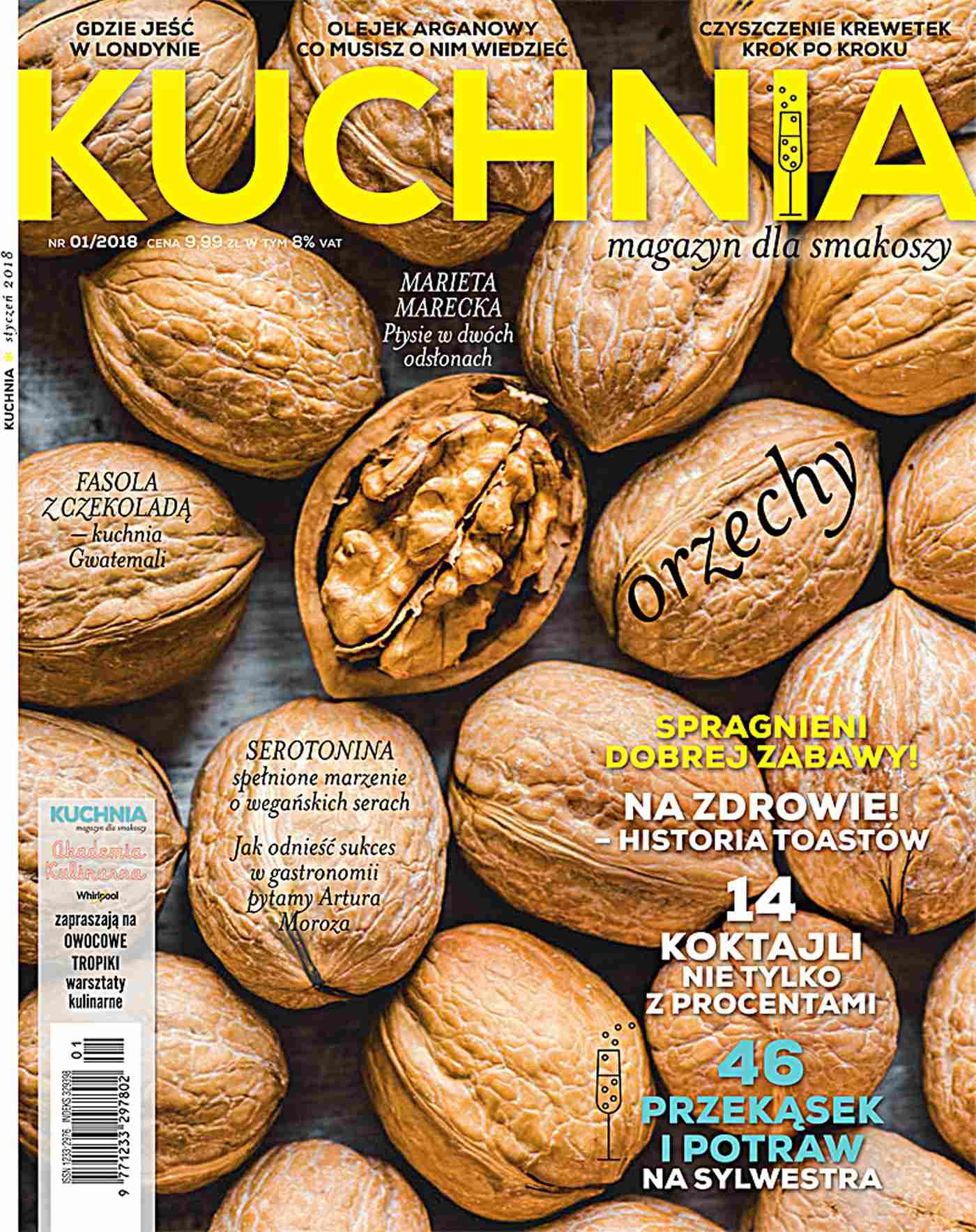 Kuchnia 1/2018 - Ebook (Książka PDF) do pobrania w formacie PDF