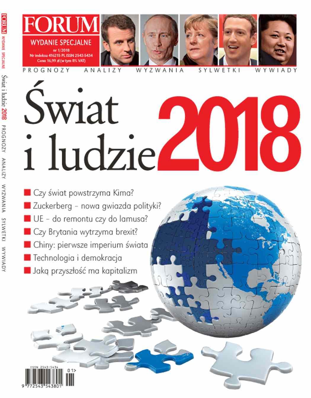 Forum Wydanie Specjalne Świat i Ludzie nr 1/2018 - Ebook (Książka PDF) do pobrania w formacie PDF