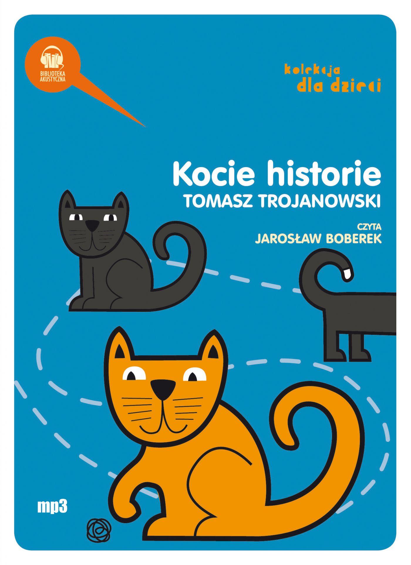 Kocie historie - Audiobook (Książka audio MP3) do pobrania w całości w archiwum ZIP