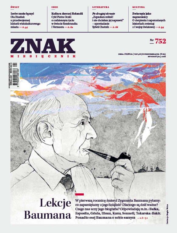 Miesięcznik ZNAK nr 752: Lekcje Baumana - Ebook (Książka PDF) do pobrania w formacie PDF