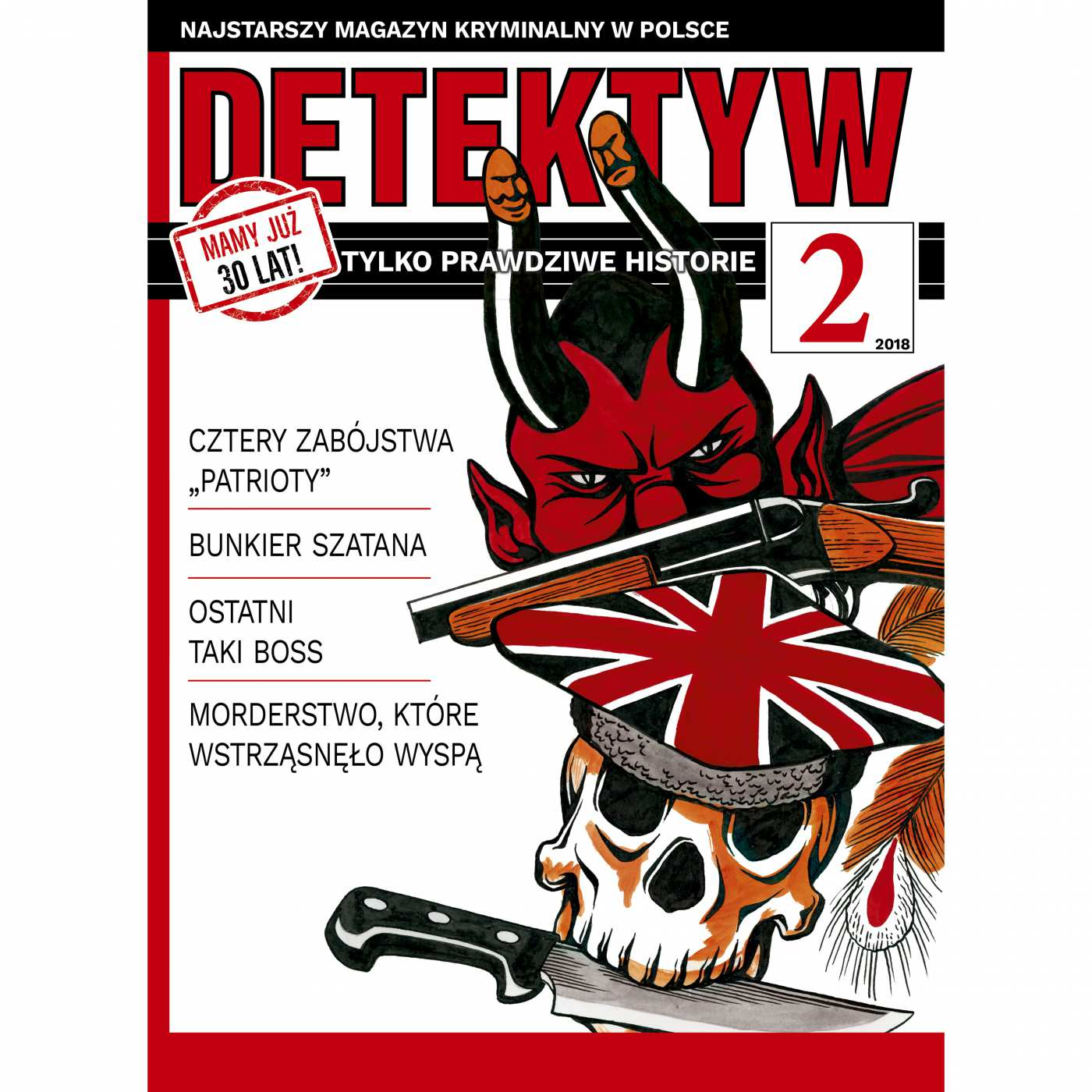 Detektyw 2/2018 - Audiobook (Książka audio MP3) do pobrania w całości w archiwum ZIP