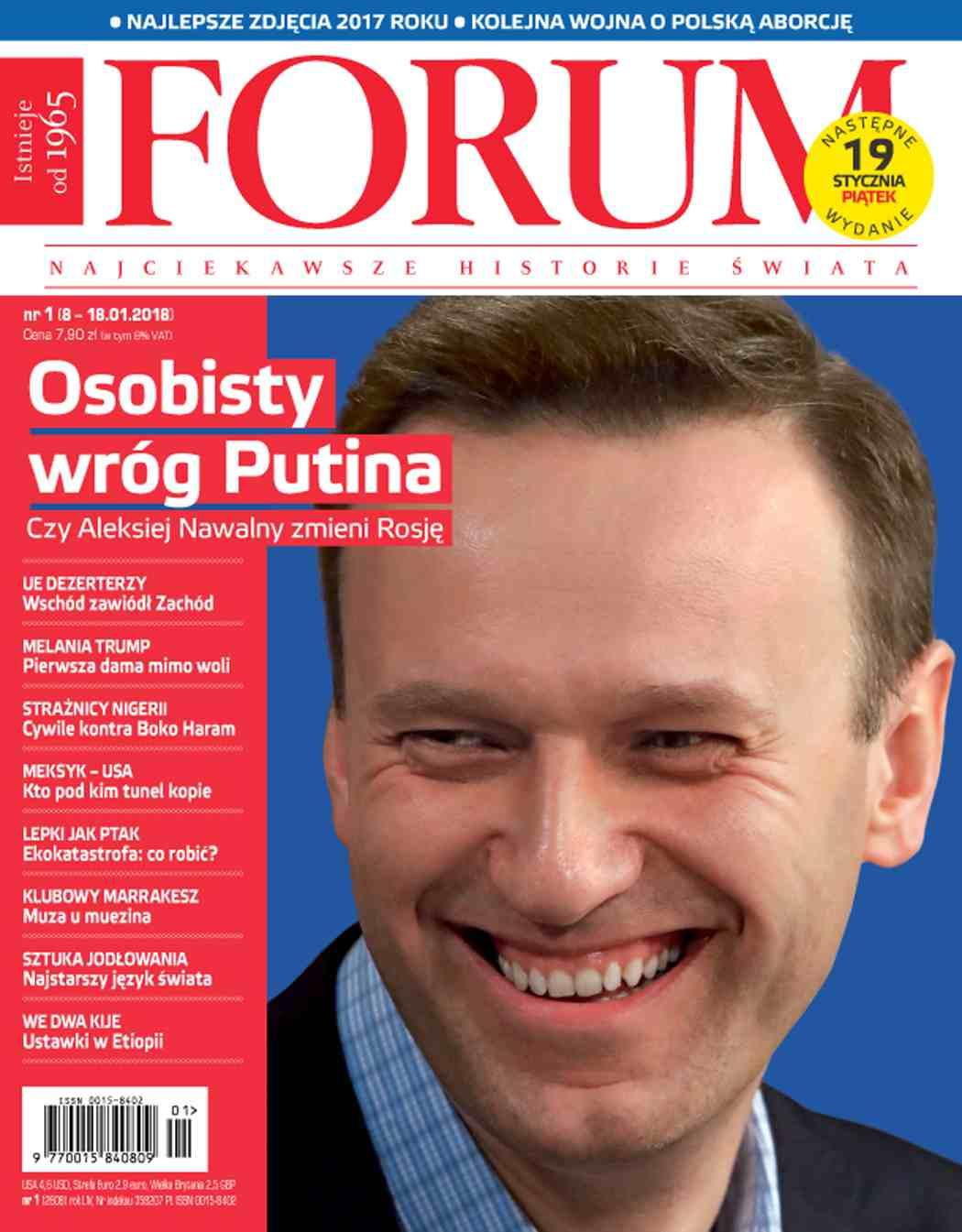 Forum nr 1/2018 - Ebook (Książka PDF) do pobrania w formacie PDF