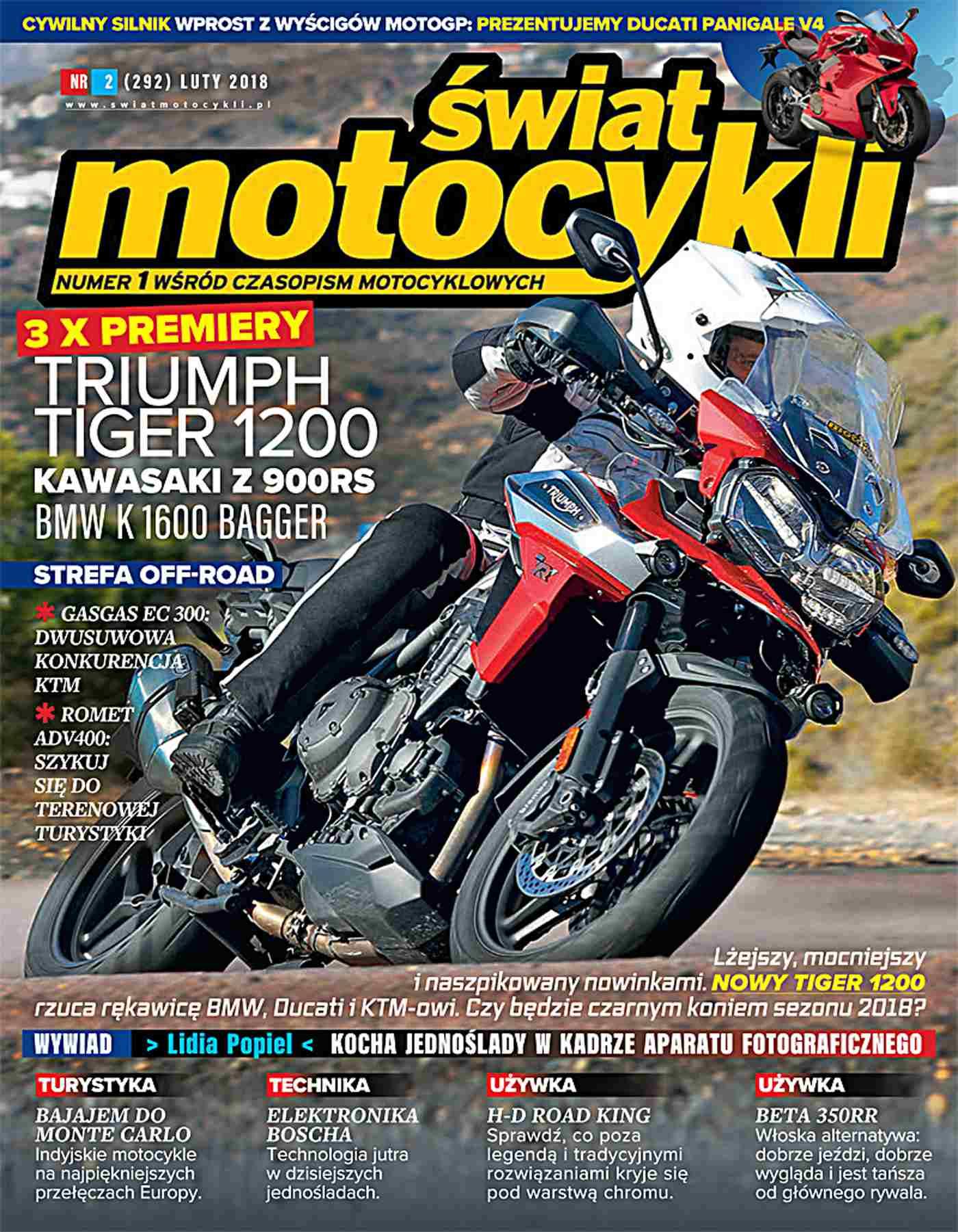 Świat Motocykli 2/2018 - Ebook (Książka PDF) do pobrania w formacie PDF