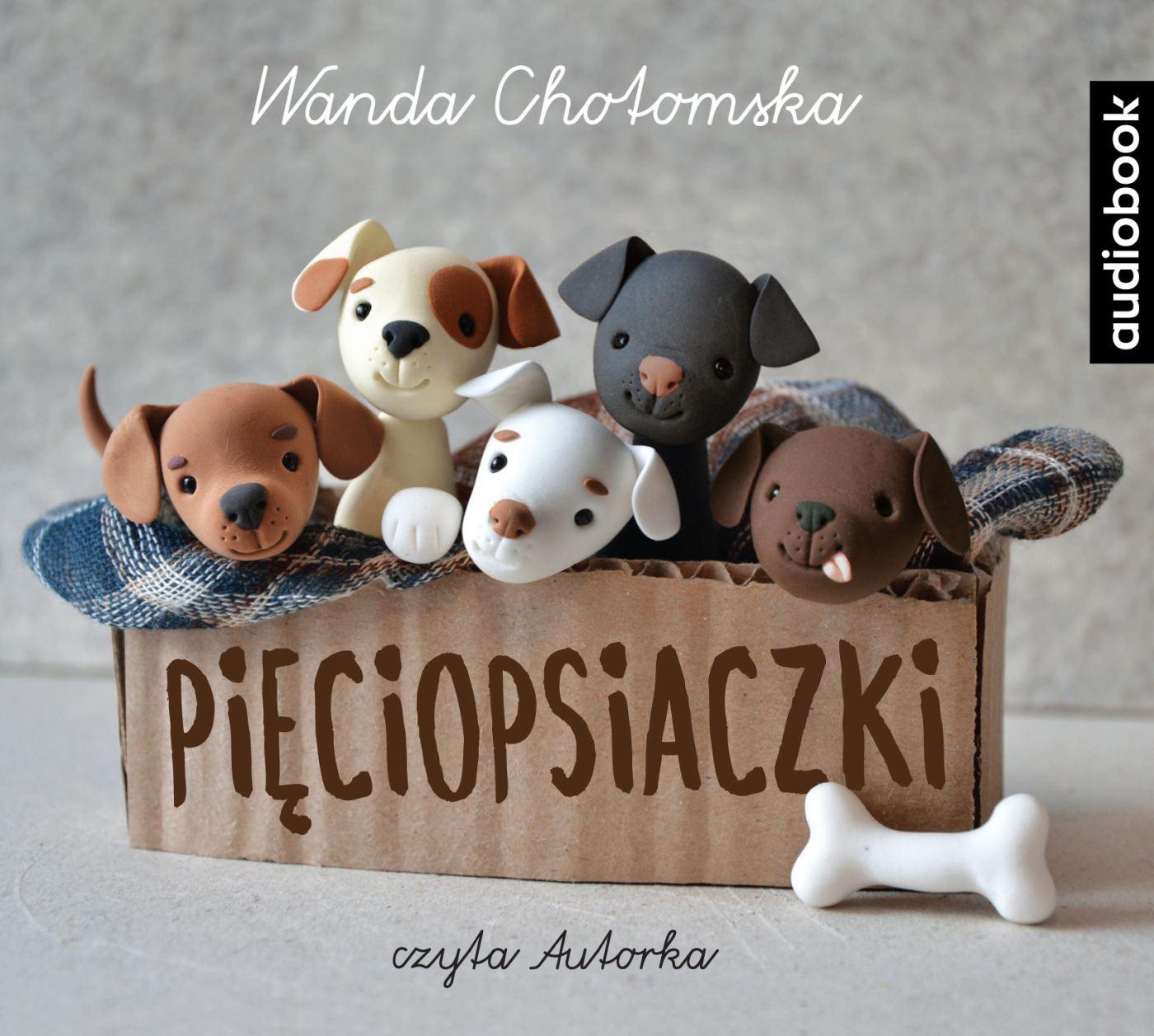 Pięciopsiaczki - Audiobook (Książka audio MP3) do pobrania w całości w archiwum ZIP