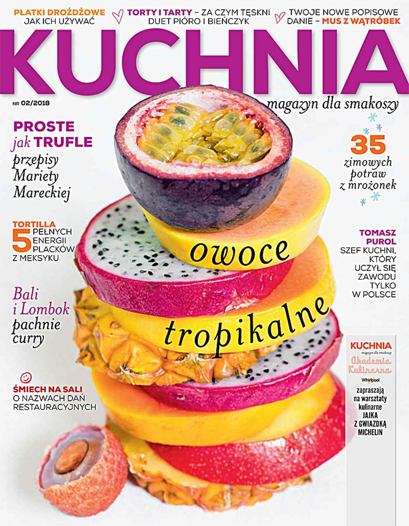 Kuchnia 2/2018 - Ebook (Książka PDF) do pobrania w formacie PDF