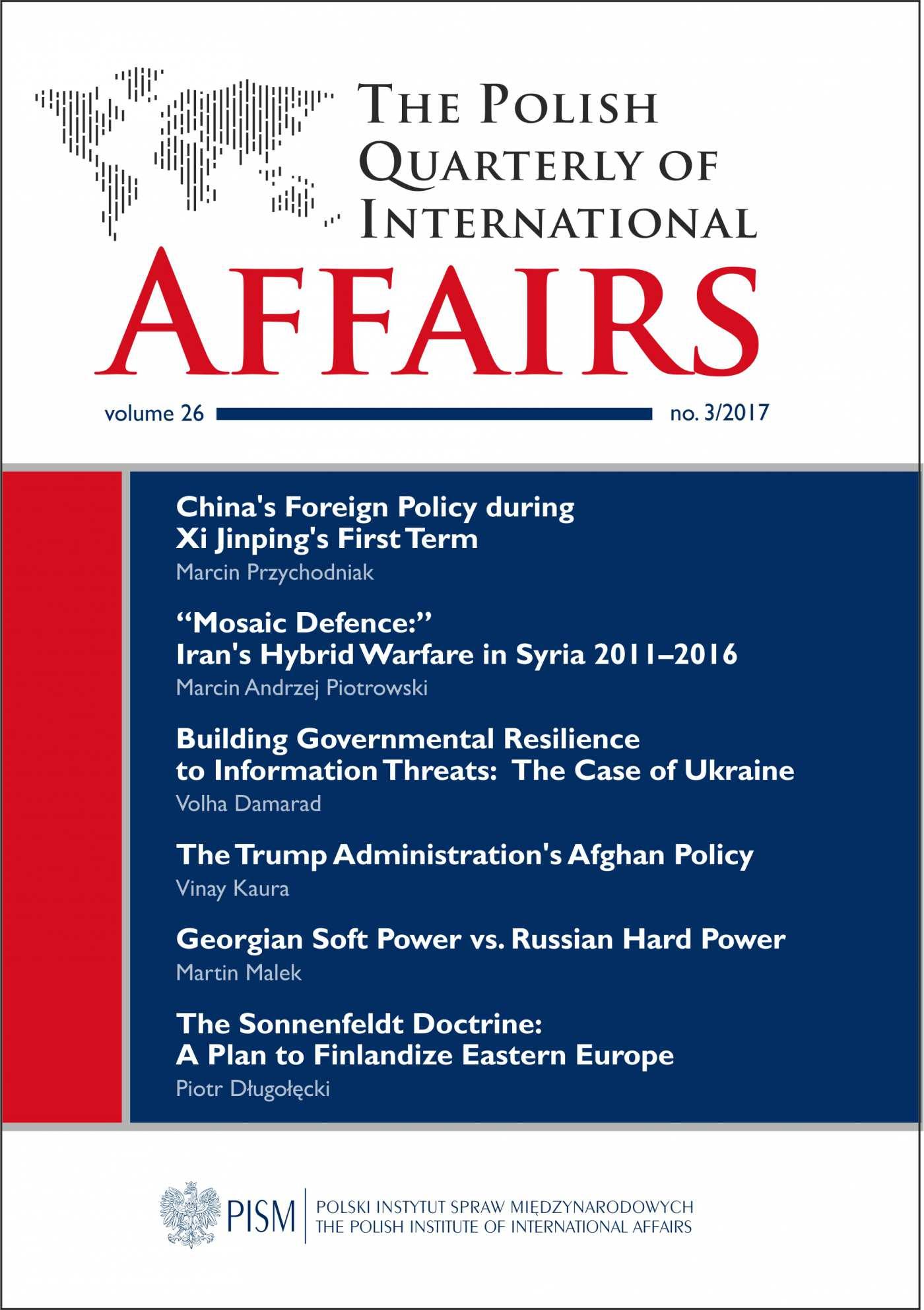 The Polish Quarterly of International Affairs, no 3/2017 - Ebook (Książka PDF) do pobrania w formacie PDF