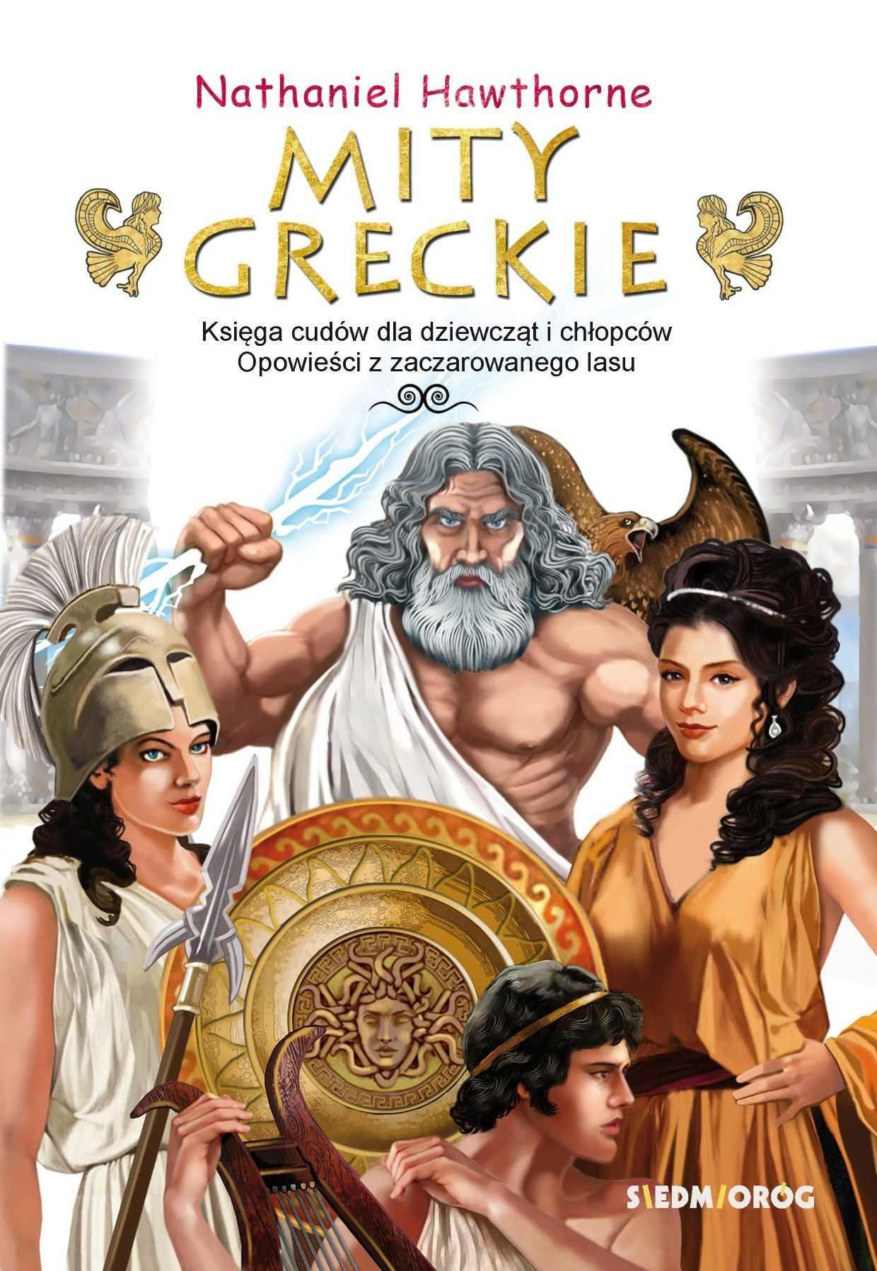 Mity greckie Księga cudów i Opowieści z zaczarowanego lasu - Ebook (Książka EPUB) do pobrania w formacie EPUB