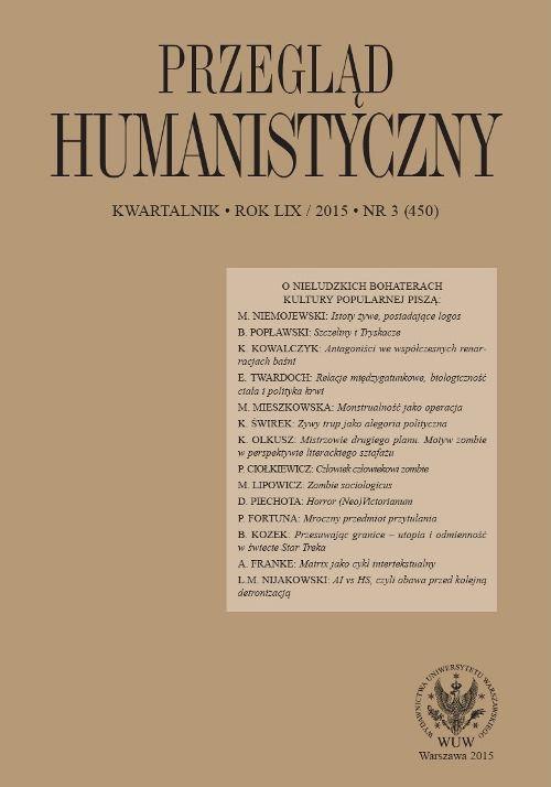 Przegląd Humanistyczny 2015/3 (450) - Ebook (Książka PDF) do pobrania w formacie PDF