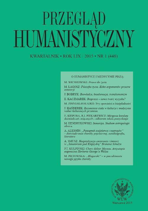 Przegląd Humanistyczny 2015/1 (448) - Ebook (Książka PDF) do pobrania w formacie PDF