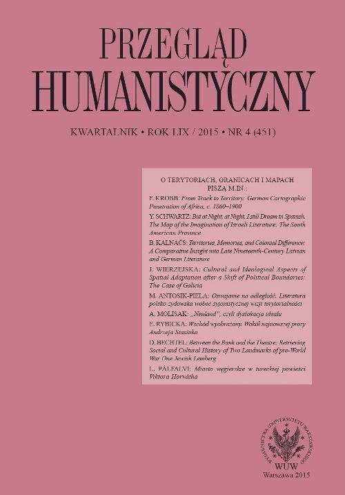 Przegląd Humanistyczny 2015/4 (451) - Ebook (Książka PDF) do pobrania w formacie PDF