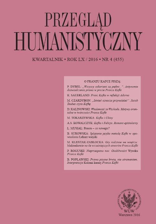 Przegląd Humanistyczny 2016/4 (455) - Ebook (Książka PDF) do pobrania w formacie PDF
