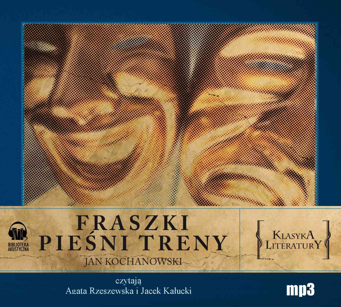 Fraszki Pieśni Treny - Audiobook (Książka audio MP3) do pobrania w całości w archiwum ZIP