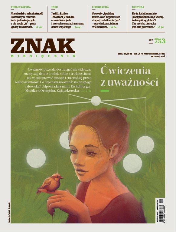 Miesięcznik ZNAK nr 753: Ćwiczenia z uważności - Ebook (Książka PDF) do pobrania w formacie PDF