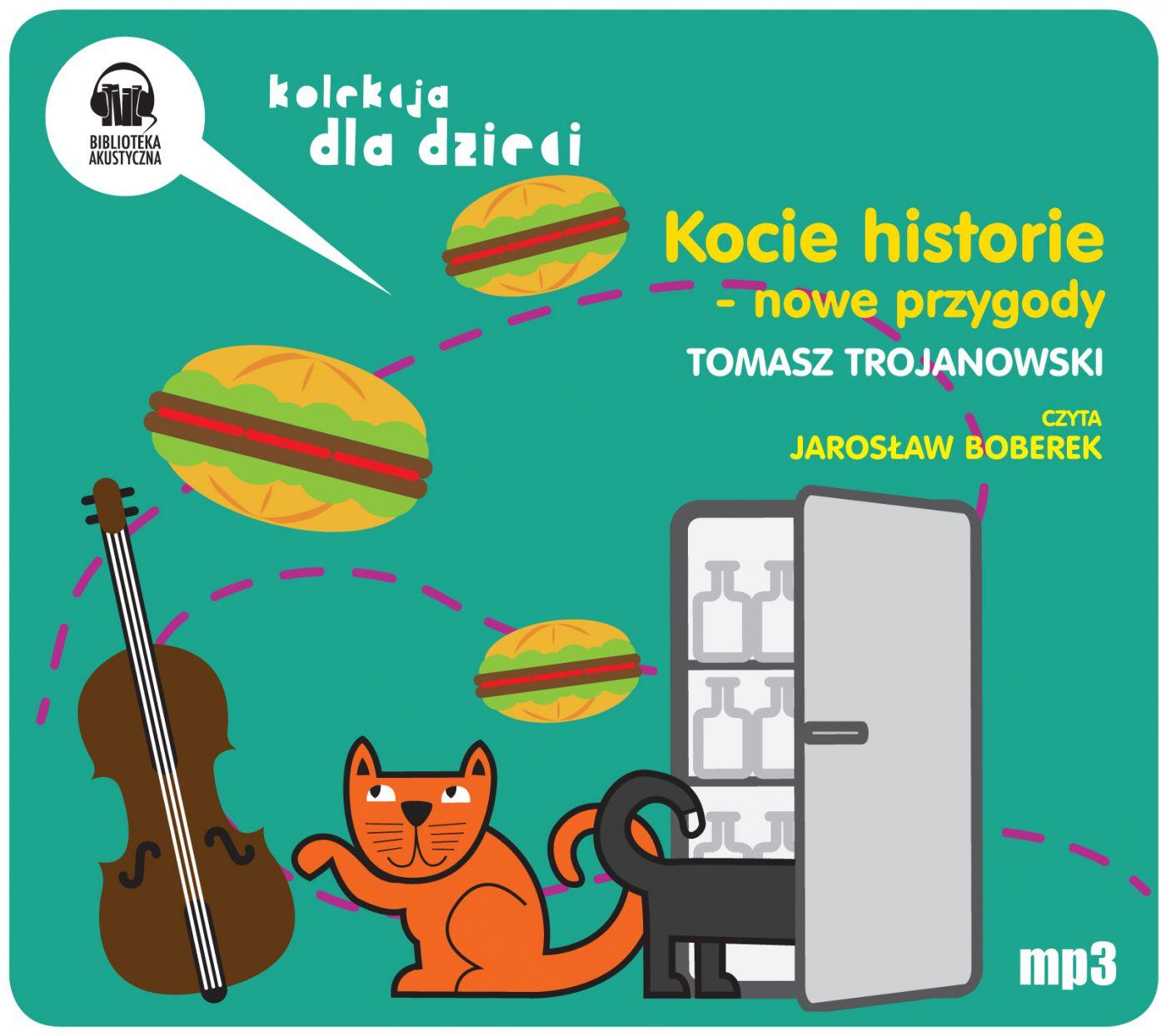Kocie historie - nowe przygody - Audiobook (Książka audio MP3) do pobrania w całości w archiwum ZIP