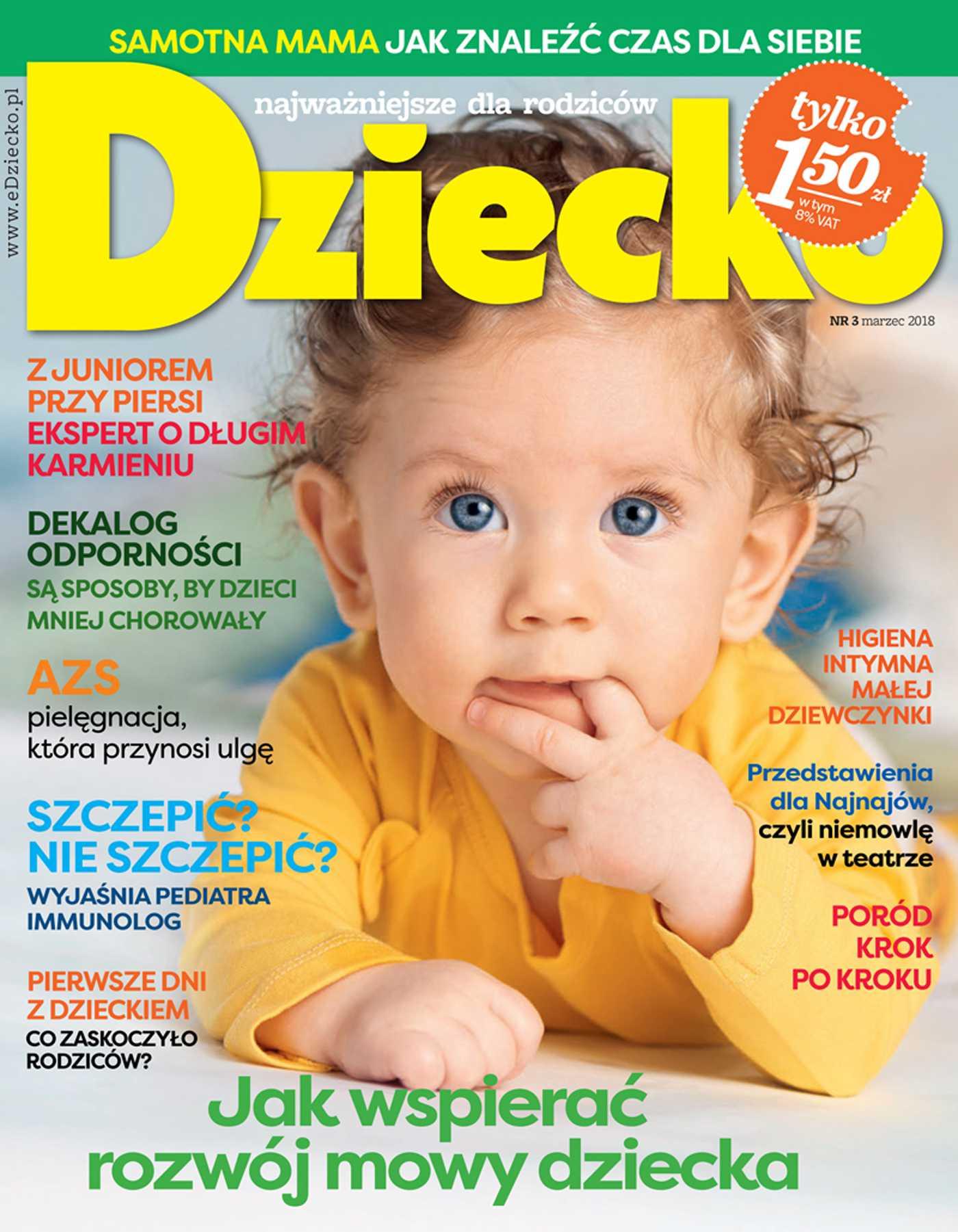 Dziecko 3/2018 - Ebook (Książka PDF) do pobrania w formacie PDF