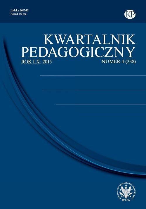 Kwartalnik Pedagogiczny 2015/4 (238) - Ebook (Książka PDF) do pobrania w formacie PDF