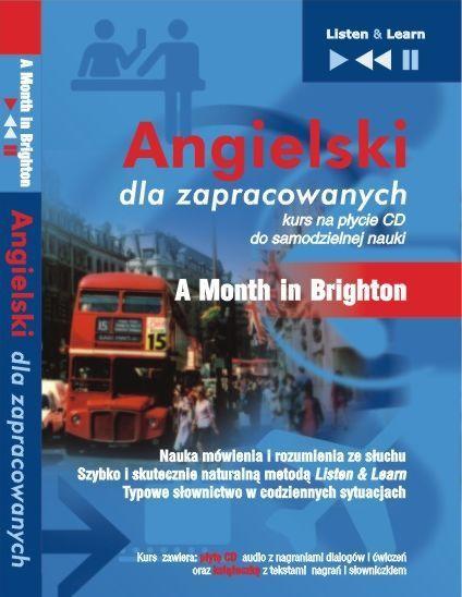 Angielski dla zapracowanych - A Month in Brighton - Audiobook (Książka audio MP3) do pobrania w całości w archiwum ZIP