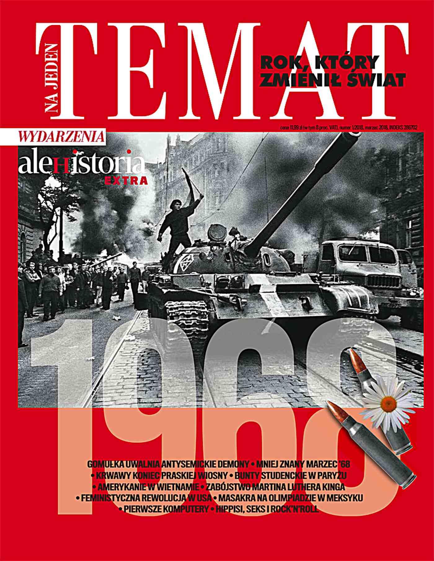 Ale Historia Extra. Na jeden temat. 1968 – rok, który zmienił świat 1/201 - Ebook (Książka na Kindle) do pobrania w formacie MOBI
