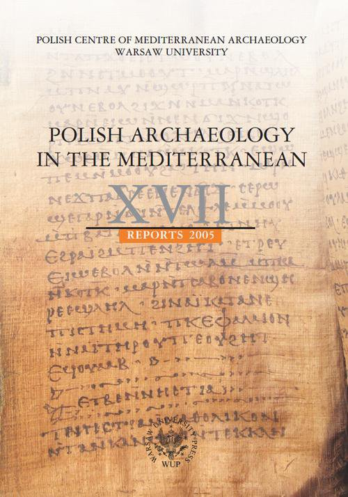 Polish Archaeology in the Mediterranean 17 - Ebook (Książka PDF) do pobrania w formacie PDF