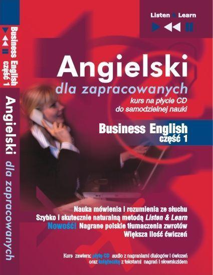 Angielski dla zapracowanych - Business English cz 1 - Audiobook (Książka audio MP3) do pobrania w całości w archiwum ZIP
