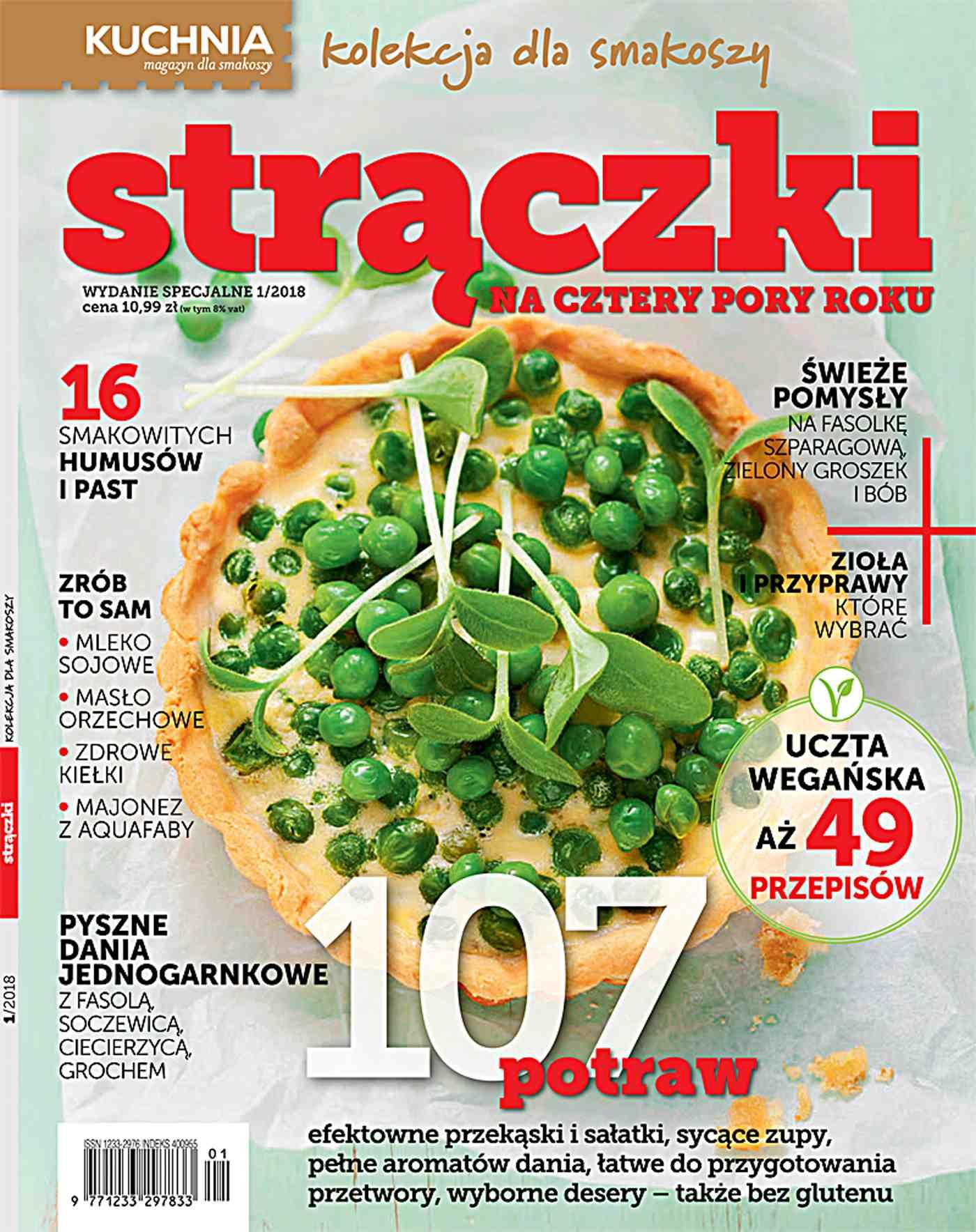 Kuchnia. Kolekcja dla smakoszy 1/2018 Strączki - Ebook (Książka PDF) do pobrania w formacie PDF