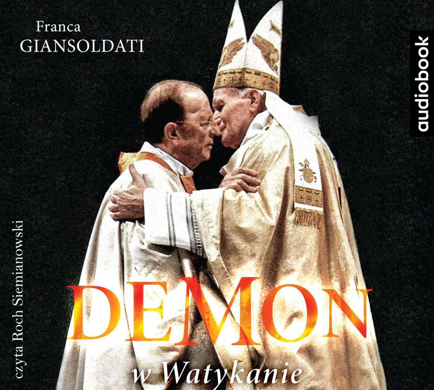 Demon w Watykanie - Audiobook (Książka audio MP3) do pobrania w całości w archiwum ZIP