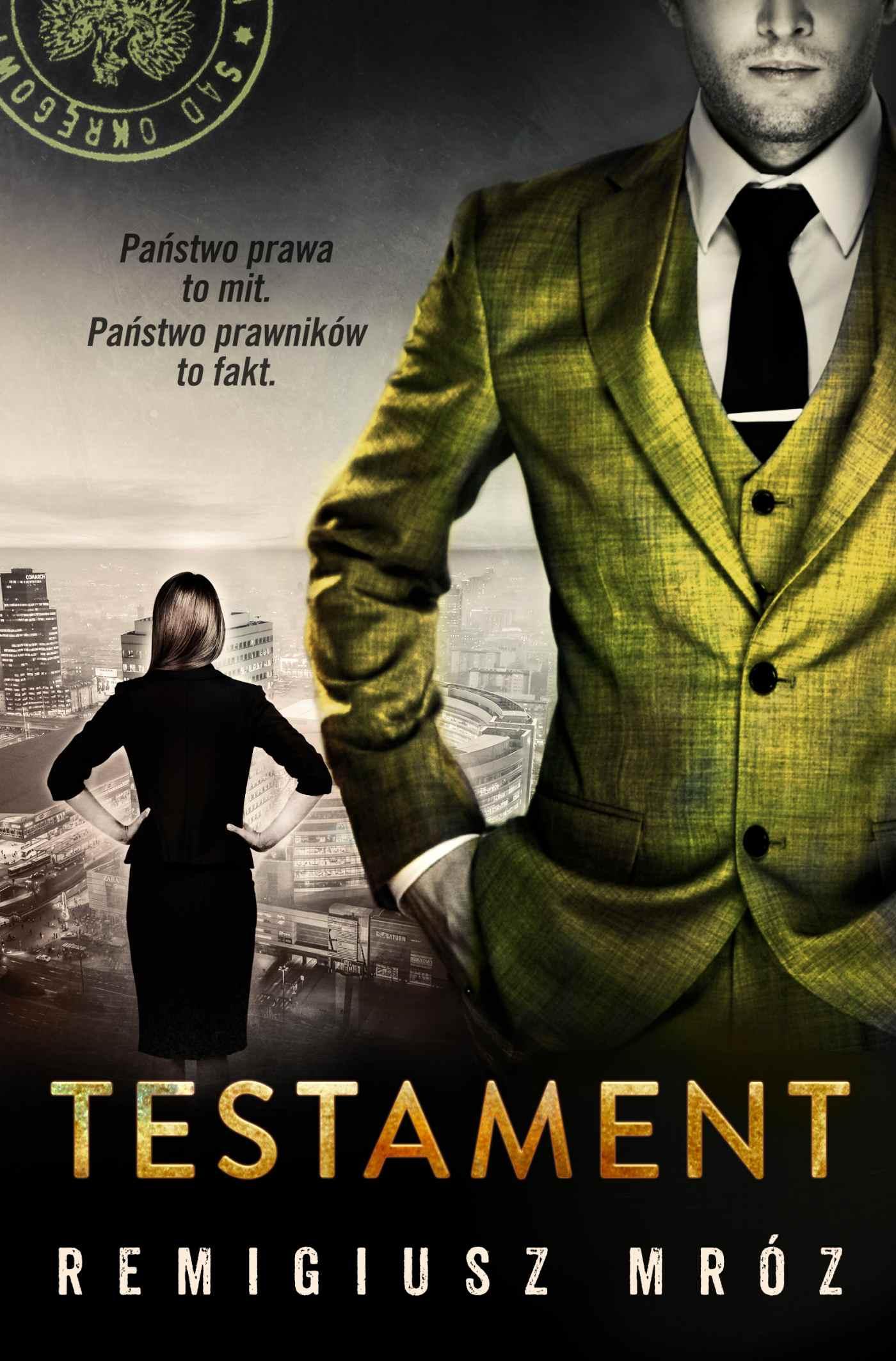 Testament - Ebook (Książka na Kindle) do pobrania w formacie MOBI