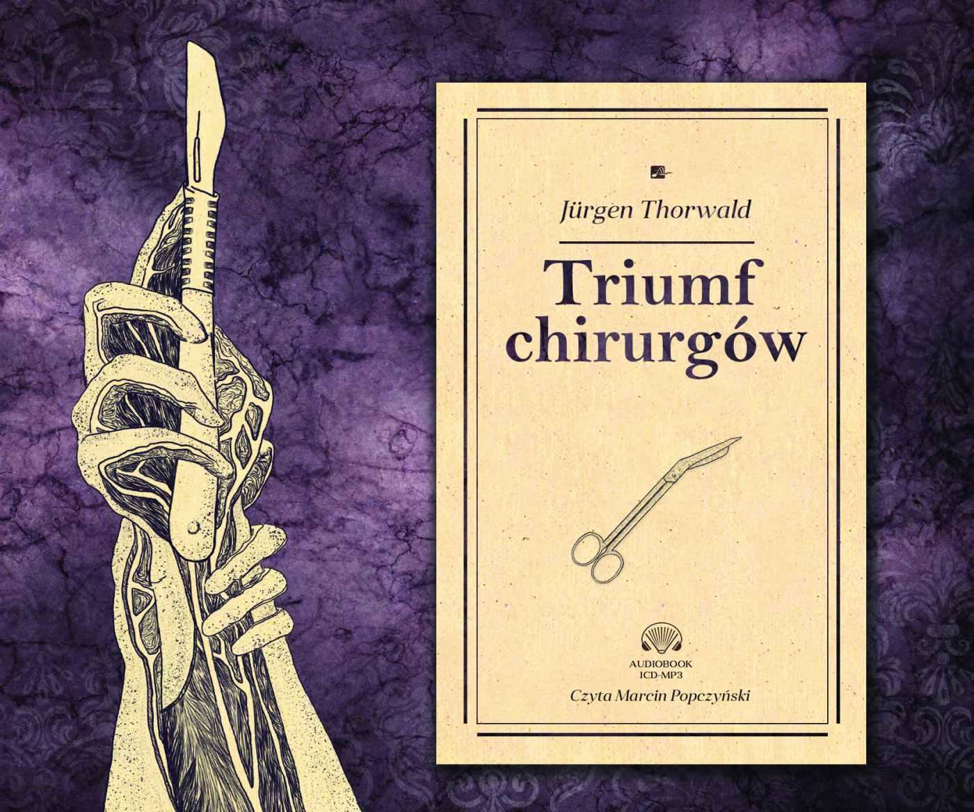 Triumf chirurgów - Audiobook (Książka audio MP3) do pobrania w całości w archiwum ZIP