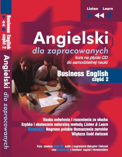 Angielski dla zapracowanych - Business English cz 2 - Audiobook (Książka audio MP3) do pobrania w całości w archiwum ZIP